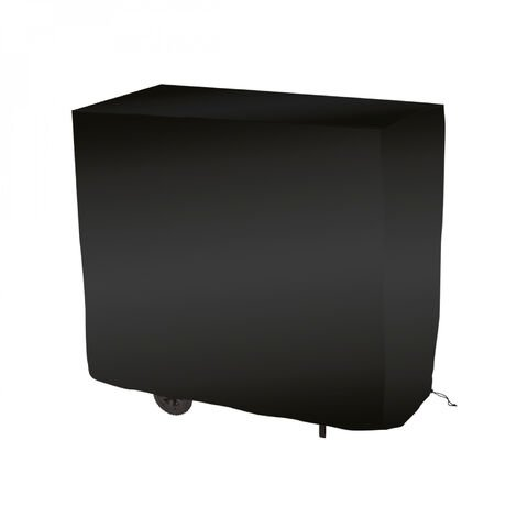Bâche de protection pour barbecue imperméable, anti UV - 147 x 61 x 122 cm - Noir - Linxor