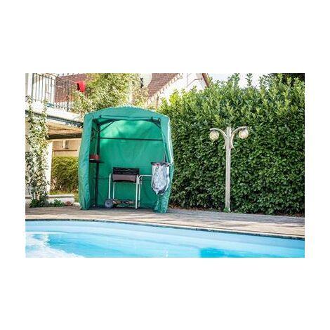 Bâche de protection pour carport pour barbecue CAR 1713 AC coloris vert