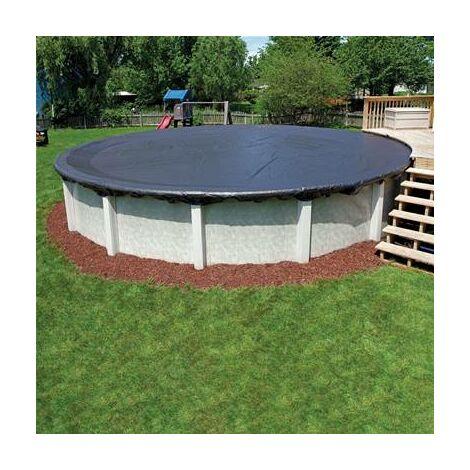 Bache de protection pour piscine hors sol bassin 3,66 m