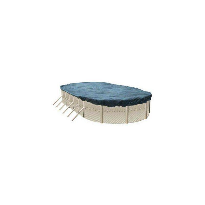 Heliotrade - Bache de protection pour piscine hors sol bassin 7,30 x 3,70 m