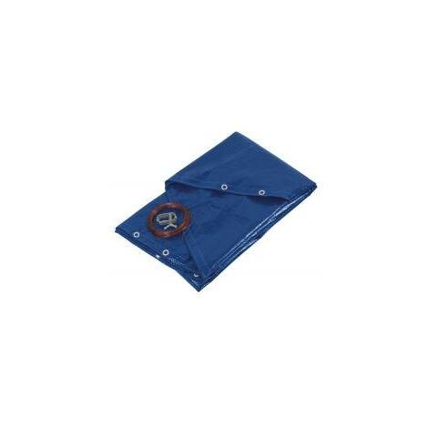bâche de protection pour piscines rondes 520cm bleue - prbp140r52 - ribitech
