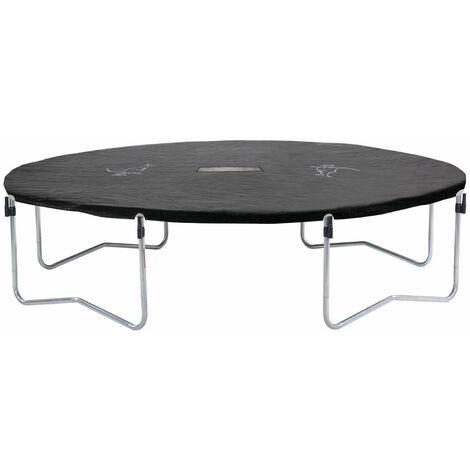 Bâche de protection pour trampoline Famili 430 en PVC noir - Noir
