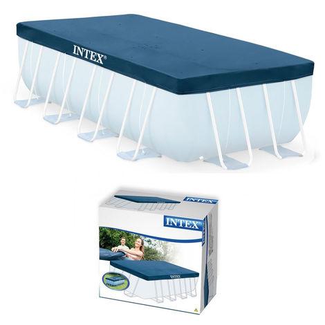Bâche de protection rectangulaire 4 x 2 m Intex