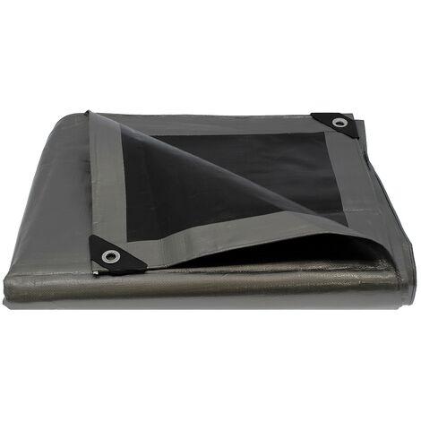 Bâche de protection ultra résistante - 260 g/m² - 5 x 8 mètres