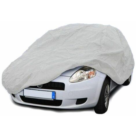 Bâche de protection voiture housse auto S 406x165x119cm extérieur résistant UV