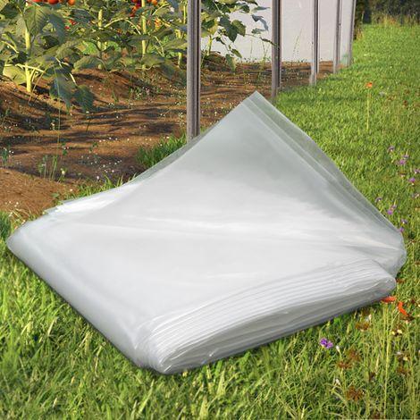 Bâche de rechange pour serre horticole 6m2 PVC 200gr/m²
