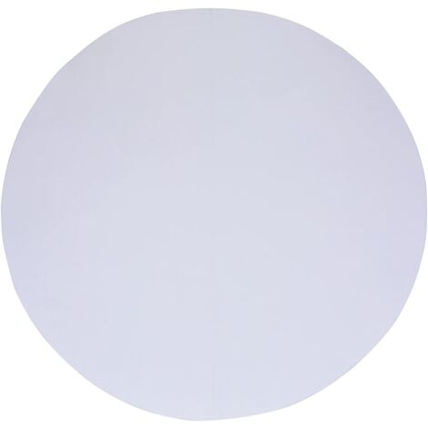 Bâche de sol de piscine Blanc 305 cm Géotextile