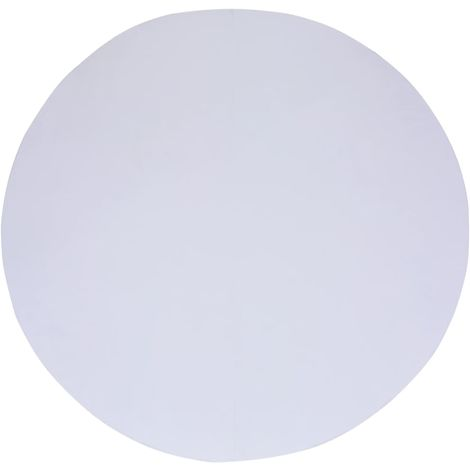 Bache de sol de piscine Blanc 305 cm Geotextile