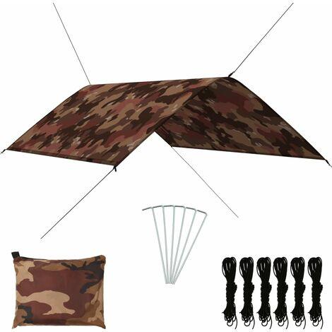 Bâche d'extérieur 3x2 m Camouflage