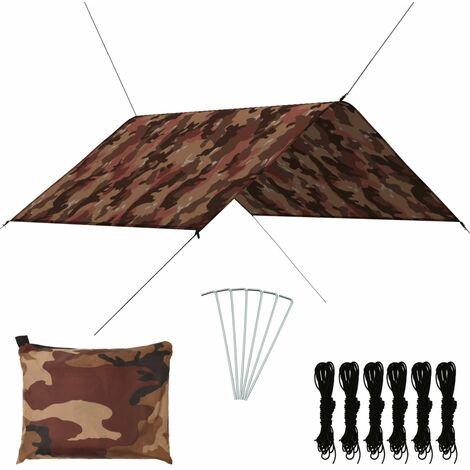 Bâche d'extérieur 3x2,85 m Camouflage10713-A