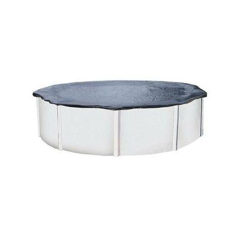 Bache d'hivernage couverture de protection piscine hors sol de 3.60 à 4 mètres