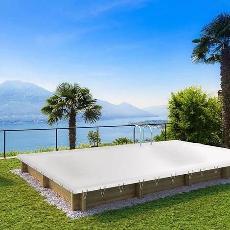 Bâche d'hivernage pour piscine en bois BWT myPOOL - PROCOPI - Pool'n Box et Weva-6 x 3 m