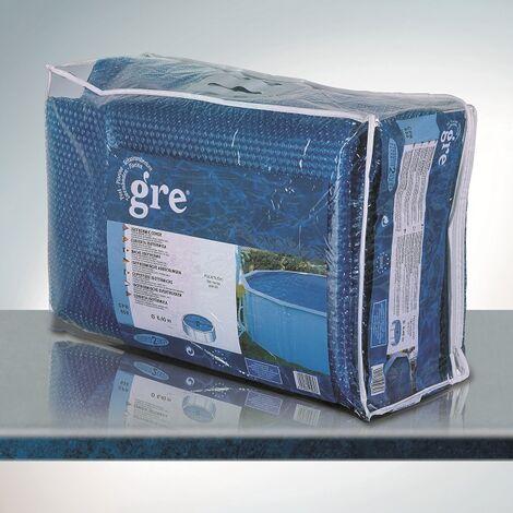 couleur bleue B/âche d/'/ét/é pour piscine ronde de 350 cm de diam/ètre Gre CV350