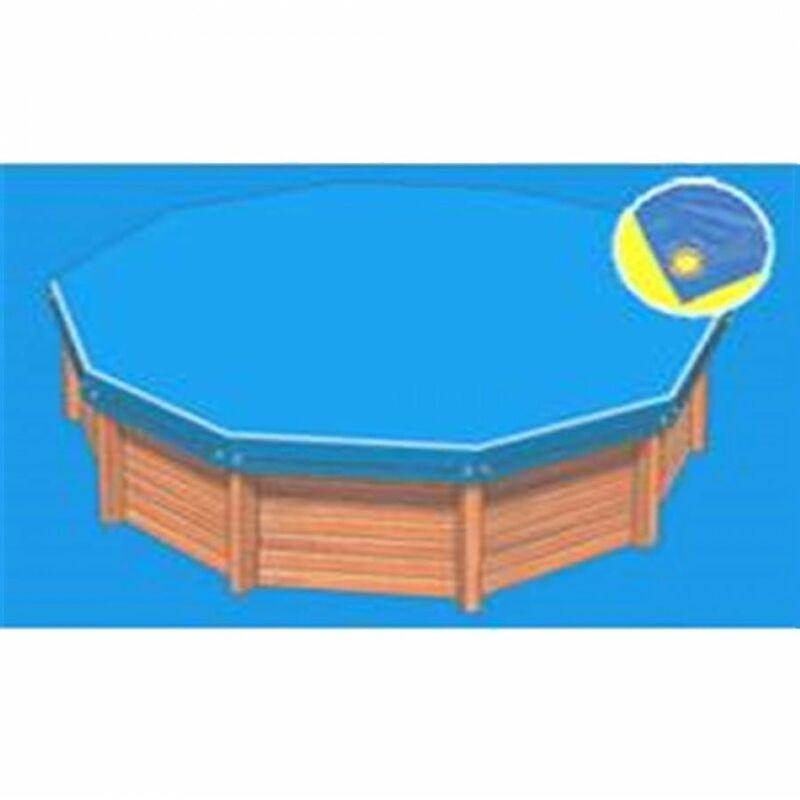 Bâche hiver Eco bleue compatible piscine Sunbay Galilée - PISCINEO