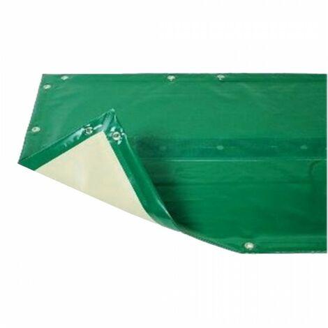 Bâche hiver Luxe verte compatible piscine Ubbink Azura 350x505