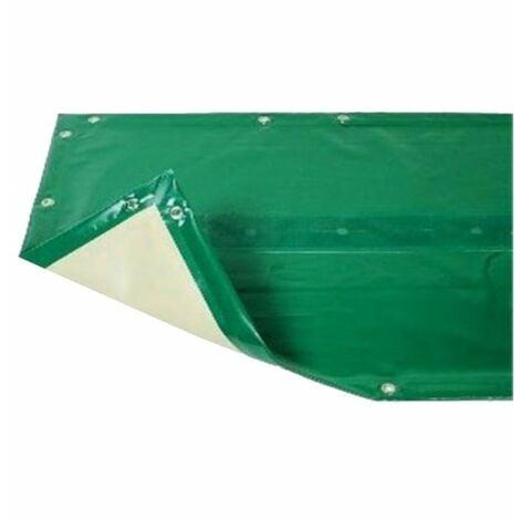 Bâche hiver Luxe verte compatible piscine Ubbink Linéa 350x650