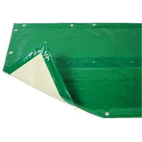 Bâche hiver Luxe verte compatible piscine Ubbink Linéa 500x800