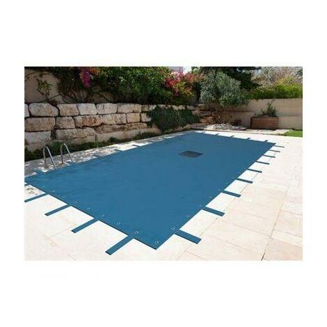 Bâche hiver pour piscine 6x10 ou 6x11 ou 6x12 m