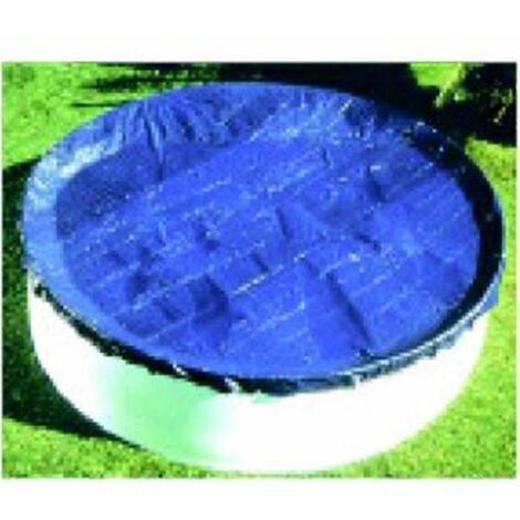 Bâche hiver pour piscine diamètre 2.40 à 2.50m
