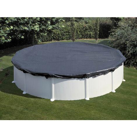 Bâche pour piscine en PE 6,0 m couverture pour piscine ronde pour hiver