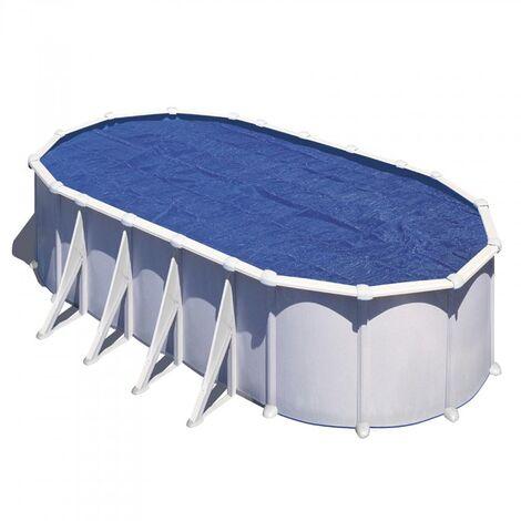 Bâche Isotherme à Bulles Piscine Ovale 610x375 anti UVA 180 microns