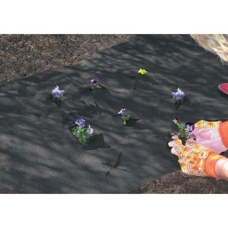 Bache Mauvaises herbes / paillis 5x1,5 noir CircumPRO