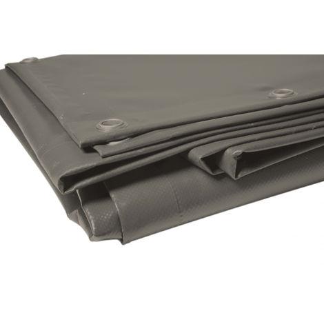 Bâche pergola 2x3m couleur taupe 680g Haute qualité couleur taupe bache terrasse