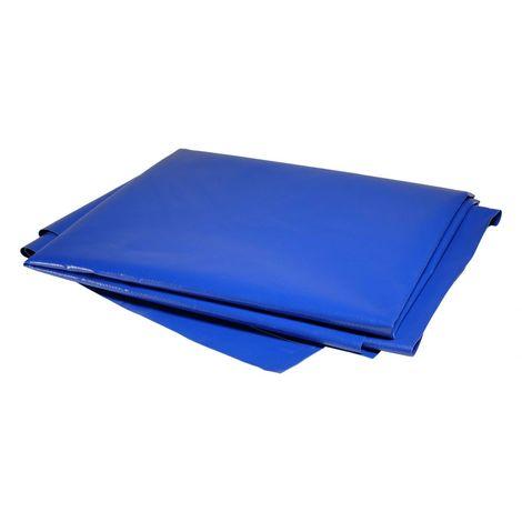 Bâche Pergola 8 x 5 m Bleue 680 g/m2 PVC Haute qualité - Bleue