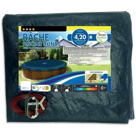 Bâche piscine ronde