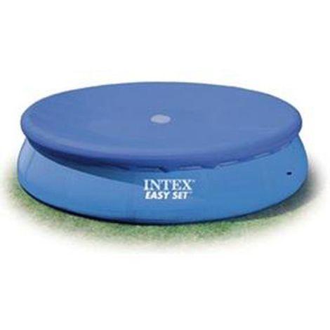 Bâche pour piscine autoportante - Diam. 2,44 m. - Bleu