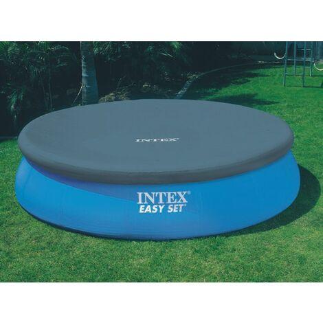 Bâche pour piscine autoportée ronde INTEX 2,44 m