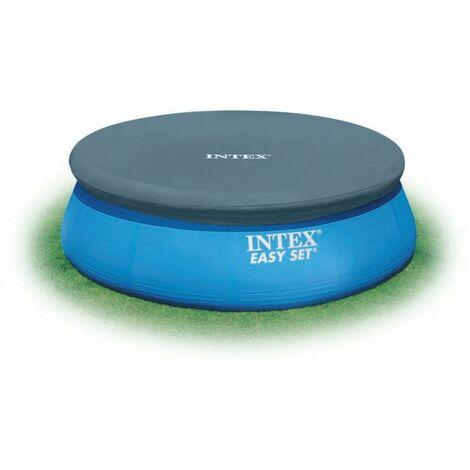 Bâche pour piscine autoportée ronde INTEX 3.66 m