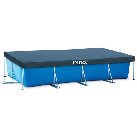 Bâche pour piscine tubulaire rectangulaire Intex 4.50 x 2.20 m 20