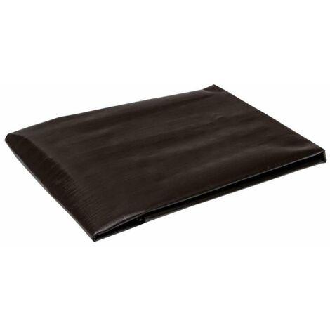Bâche professionnelle marron 350g/m2 Werkapro 2 x 3 m