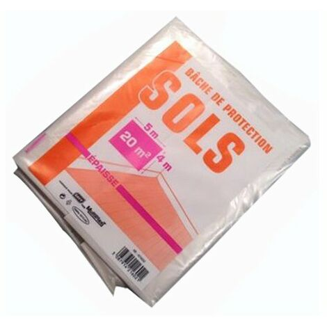 "main image of ""Bache Protection Sol 4x5m Epaisse - SAVY"""
