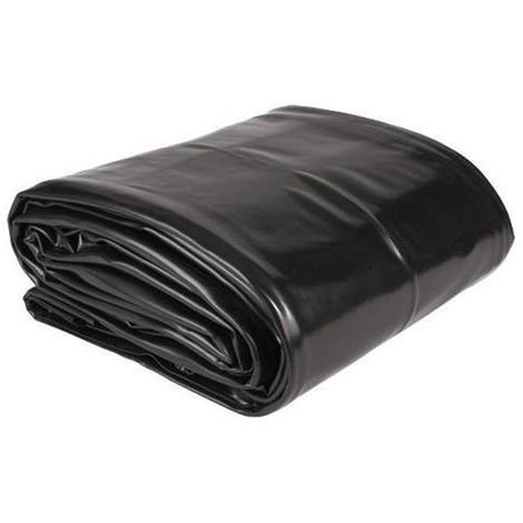 Bâche PVC pour bassin de jardin - dim. 2x3m / épais. 0.5mm - Aquaking