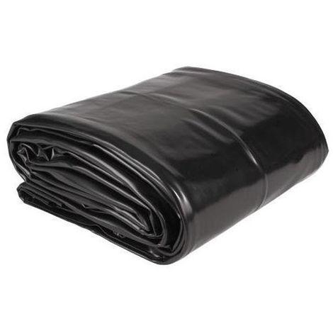 Bâche PVC pour bassin de jardin - dim. 3x3m / épais. 0.5mm - Aquaking