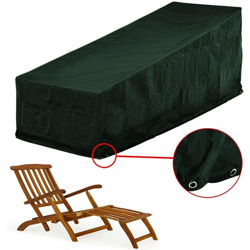 Bâche résistante en polyéthylène pour transats et chaises longues - 144x58x93cm