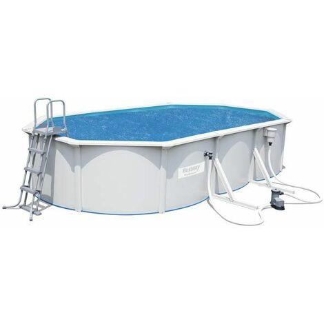 Bâche solaire pour piscine ovale Steel Wall