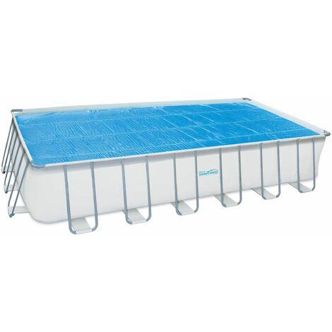 Bâche Solaire pour piscine Rectangulaire d'une dimension de 7,32 x 3,66m Summer Waves
