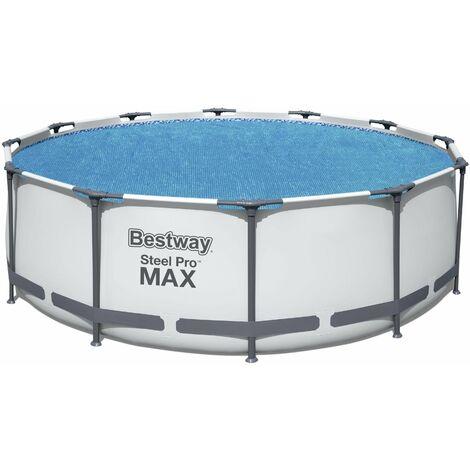 Bâche solaire pour piscines, housse pour piscines Ø356 cm pour Fast Set™ Ø366cm