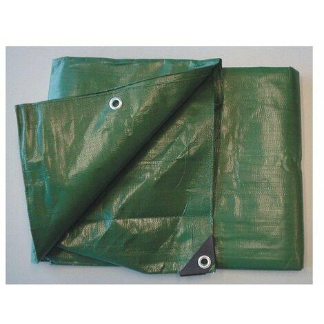 Bache ultra pro bicolore noir-vert 4 x5m ref 2415