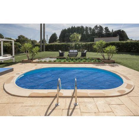 Bâches à Bulles pour piscines enterrées Gre Ovale - 595x315 cm CVPE600
