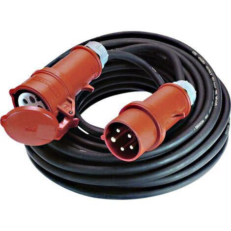 NEU 5 Meter Verlängerungskabel Kabel mit Schukostecker H05RR-F 3x2,5mm²