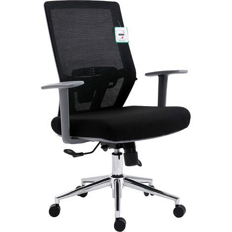 Tremendous Cherry Tree Furniture Black Mesh Back Chrome Base Ergonomic Uwap Interior Chair Design Uwaporg