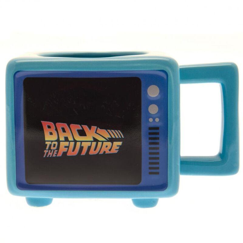 Image of Ceramic Heat Changing Mug (One Size) (Blue) - Back To The Future