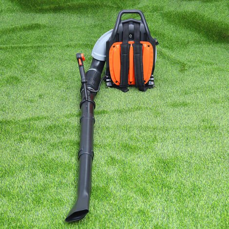 Backpack 65cc Petrol Leaf Blower 210MPH Powerful Garden Air Cooled Absorb Engine