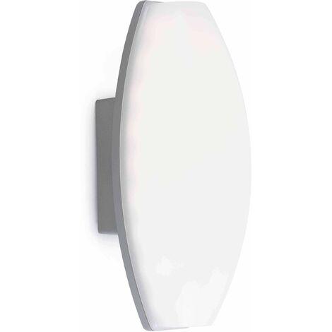 Baco white garden wall lamp