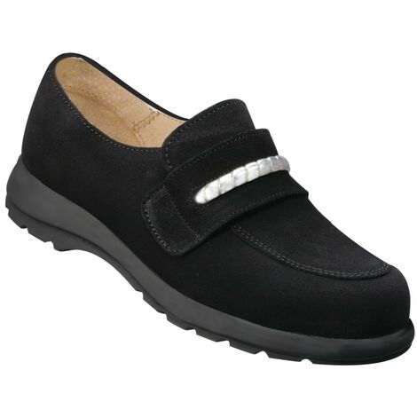 Bacou Fine Ladies Black Safety Shoes