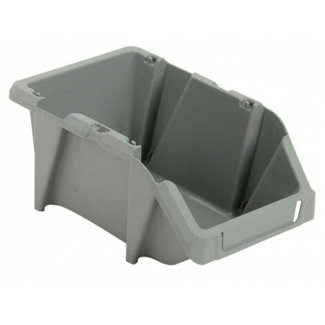 Bacs à bec gris 3l 244x153x123 mm - Lot de 50 Multiroir - Gris
